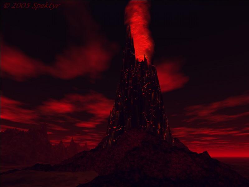 Qui tombe dans le feu de la Montagne du Destin ?
