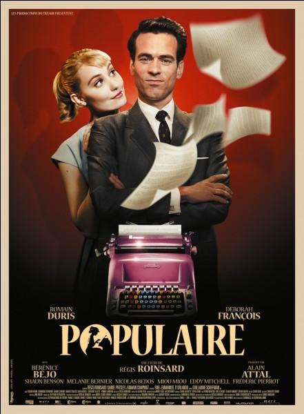 """""""Populaire"""" est un film traitant d'un concours de dactylographie dans les années 50. Lors de la finale du concours qui se déroule à New-York, combien de frappes par minute exécute Rose Pamphyle ?"""