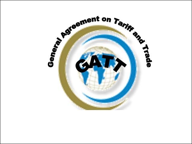 Qu'a établi le GATT, accord signé en 1947 ?