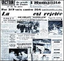 Quel projet avorta, car sa ratification fut refusée par le Parlement français en août 1954 ?