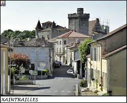 Notre balade prend fin dans l'ex région Aquitaine, à Xaintrailles. Nous sommes dans le département ...