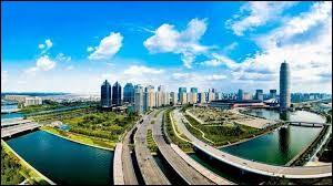 Où se trouve la ville de Zhengzhou ? (Asie)
