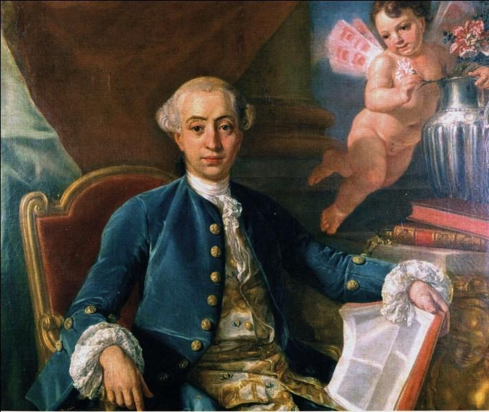 Casanova a débuté dans la carrière ecclésiastique