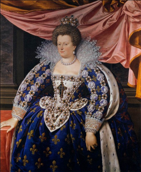 A qui Marie de Médicis était elle mariée ?