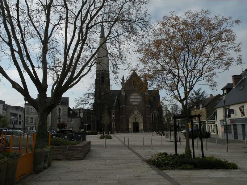 Où se situe la ville de Cesson-Sévigné ?