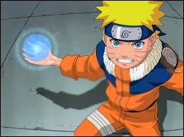 Comment Naruto effectue-t-il la technique de l'Orbe Tourbillonnant ?