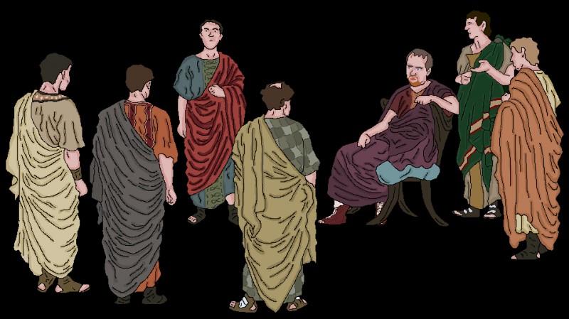 Comment appelait-on la classe des nobles à Rome durant l'antiquité ?
