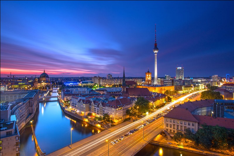 De quel pays Berlin est-elle la capitale ?