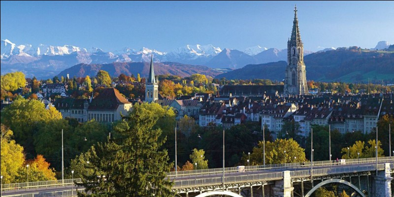 Lequel de ces pays a une ville du nom de Berne ?