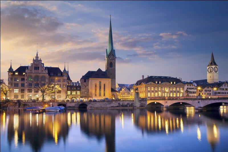 Trouvez le pays de la ville de Zurich !