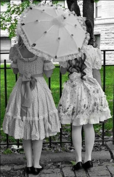 C'était les petites filles modèles !