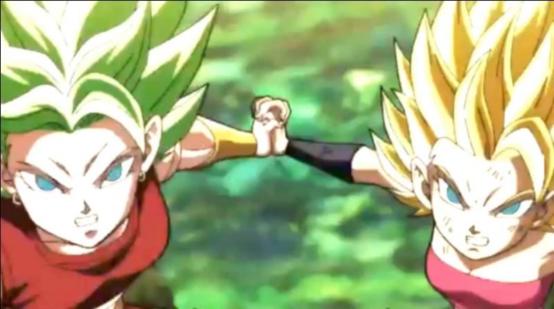 Cafla et Kale, impuissantes face à Goku...