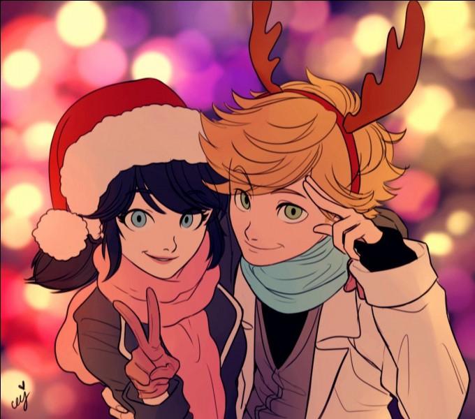 Finalement, Adrien et Marinette :