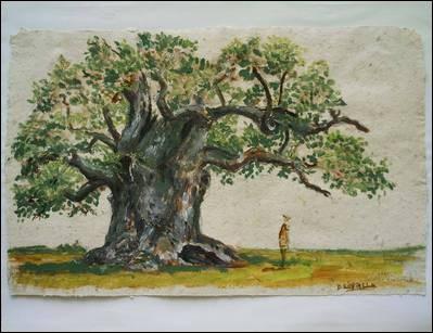 Dans la nature il tombe de l'arbre mais en société jamais il ne rebondit. Il est...