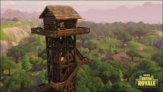 Cette tour se trouve proche de quelle ville ?