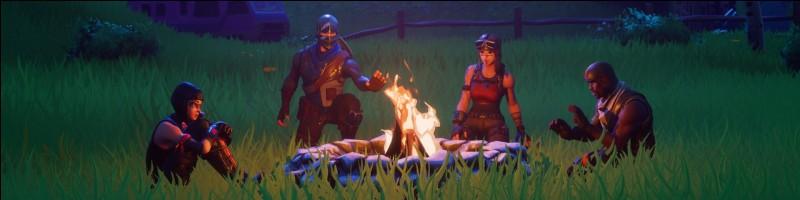 Que fait le feu de camp ?