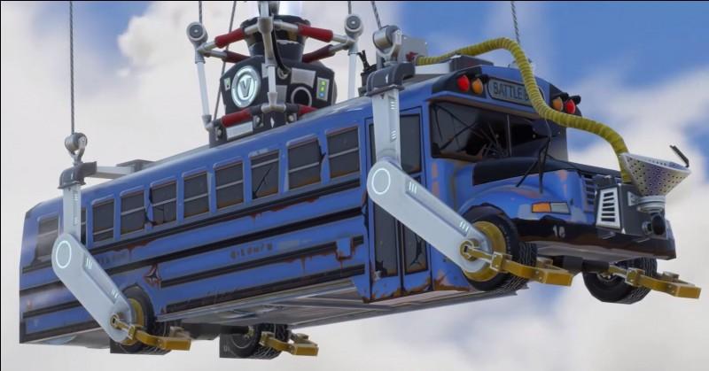 Avec quoi le bus arrive-t-il à voler ?
