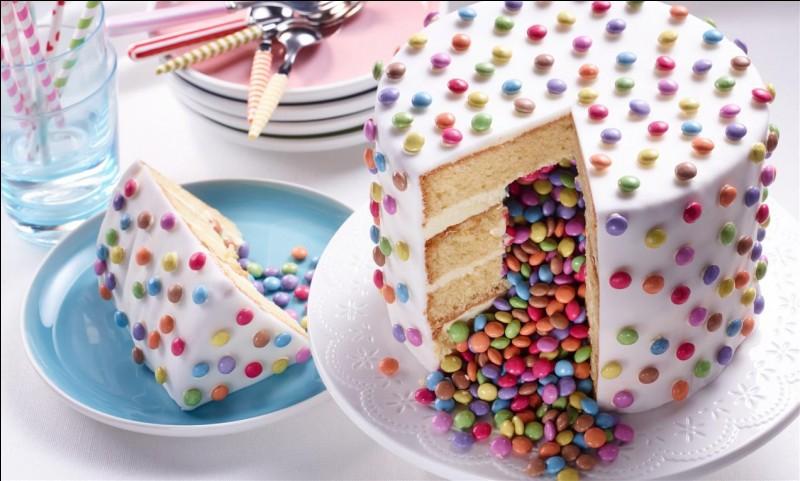 Pour quelle occasion fait-on un piñata cake ?