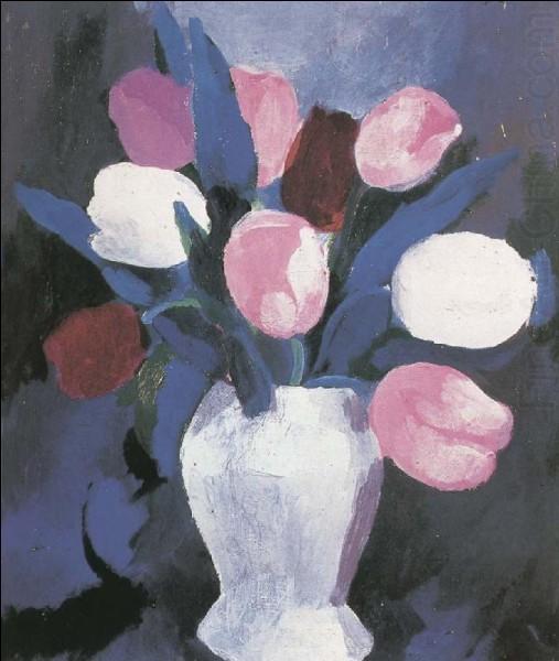 Qui a peint ces tulipes ?