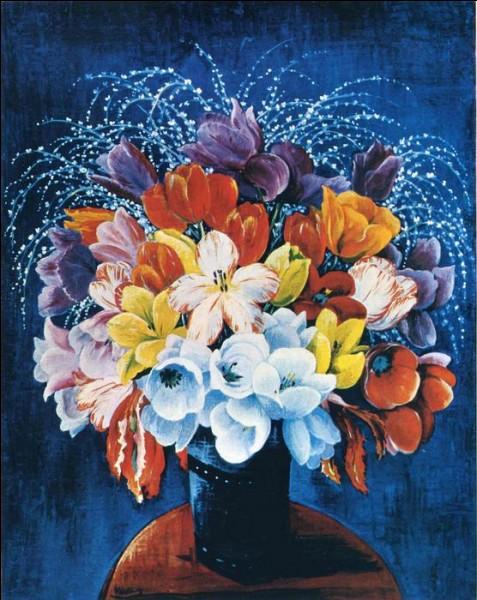 """Qui est le peintre du """"bouquet de tulipes"""" ?"""