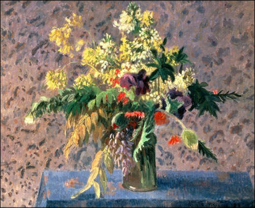 Qui a peint ce vase de fleurs ?