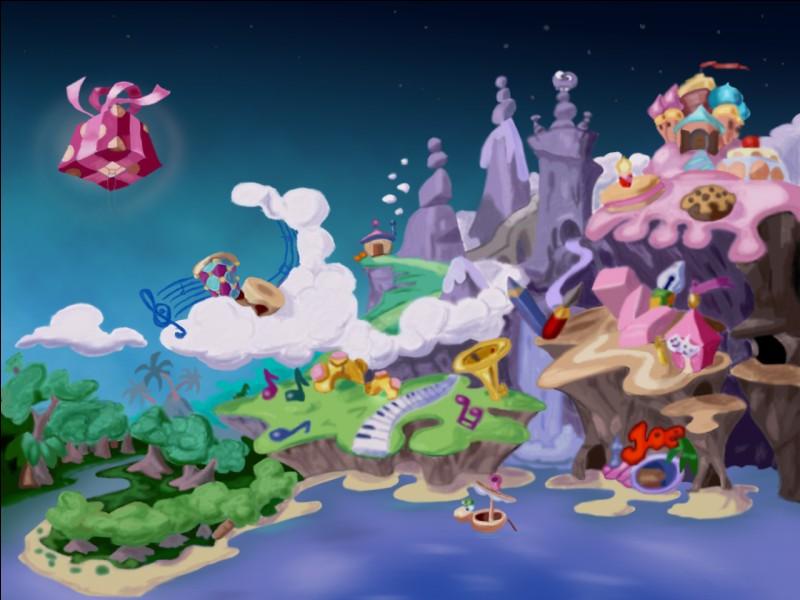 """Dans """"Rayman 1"""", combien de mondes y a-t-il ?"""