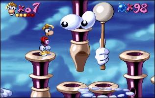 De retour au premier Rayman, comment s'appelle le second niveau du Ciel Chromatique ?