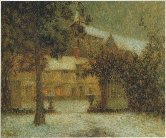 """Je suis peintre, j'ai peint """"Le Trianon"""", je suis Henri..."""