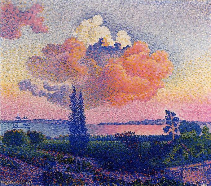 """J'ai peint """"Le nuage rose"""", je suis Henri..."""
