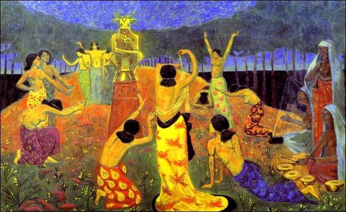 """J'ai peint """"Les filles de Pelichtim"""", je suis Paul..."""