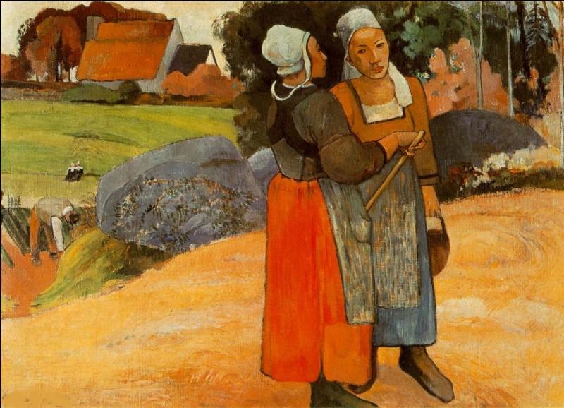 J'ai peint ces paysannes bretonnes, je suis Paul...