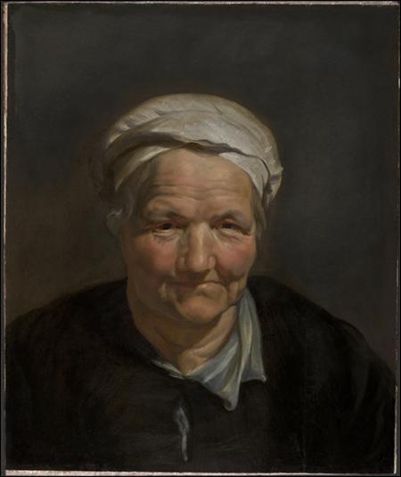 J'ai peint ce portrait de femme, je suis Paul...