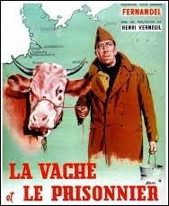 """F - Dans ce film (voir image), """"Fernandel"""" incarne un Français prisonnier de guerre en Allemagne pendant la Première Guerre mondiale."""