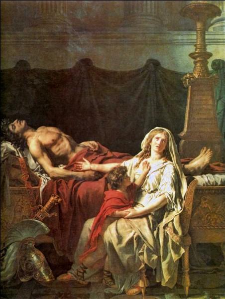 """H - Dans la mythologie grecque, """"Hector"""", prince de Troie, est marié à Andromaque."""