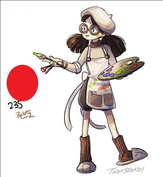 """Sacré peintre, je pourrais même vous dessiner n'importe quoi. Issu de la deuxième génération, je suis de type normal et mon nom anglais est Smeargle. Je n'ai pas d'évolution et je ne suis l'évolution d'aucun Pokémon. Ma première apparition a lieu dans """"Pikachu & Pichu"""". On dit souvent que je ressemble à un beagle. Alors, qui suis-je ?"""