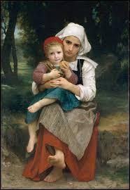 """J'ai peint """"Frère et soeur bretons"""", je suis William..."""
