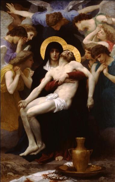 "Ma toile se nomme ""Pieta"", je suis William..."