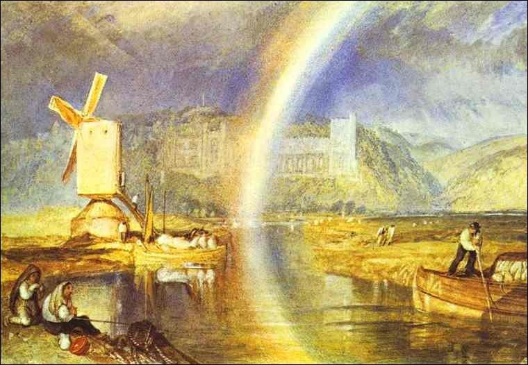 J'ai peint le château d'Arundel, je suis William...