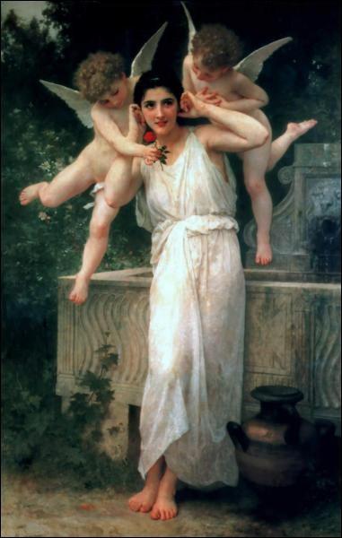 """Je suis le peintre de ce tableau intitulé """"Jeunesse, je suis William..."""