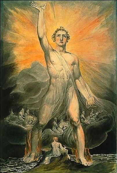 J'ai représenté l'ange de la révélation, je suis William...