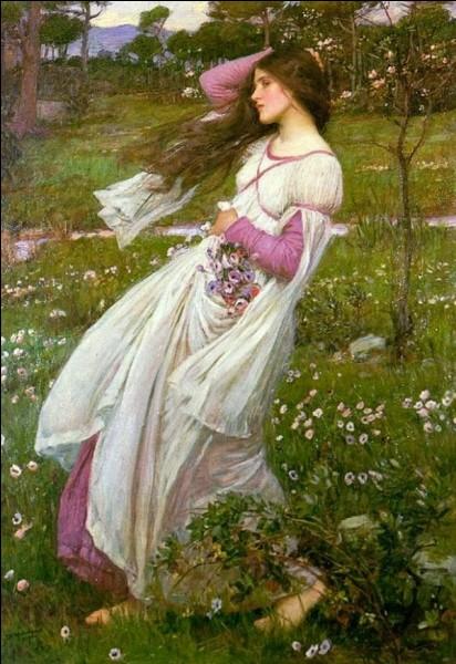 J'ai peint cette jeune femme, je suis William...