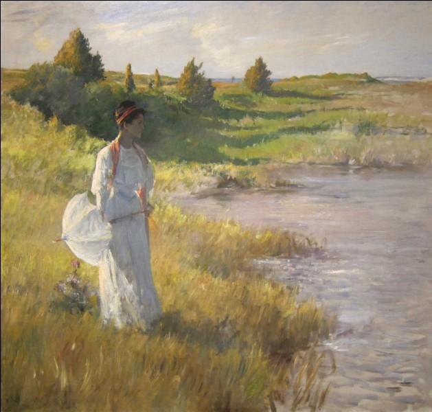 Sur cette toile je représente l'après-midi, je suis William...