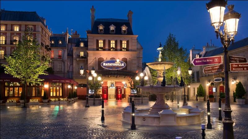 L'attraction Ratatouille : L'Aventure totalement toquée de Rémy ouvre en :