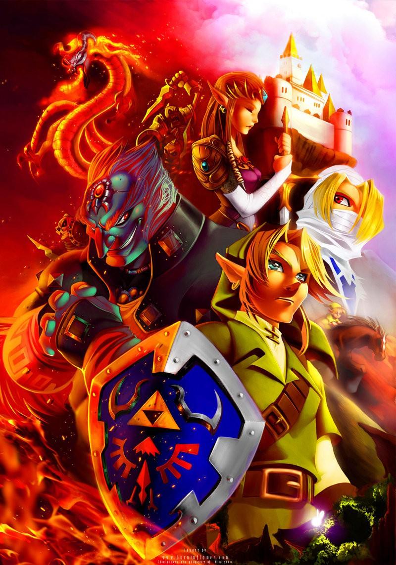 Quel personnage de 'The Legend of Zelda' es-tu ?