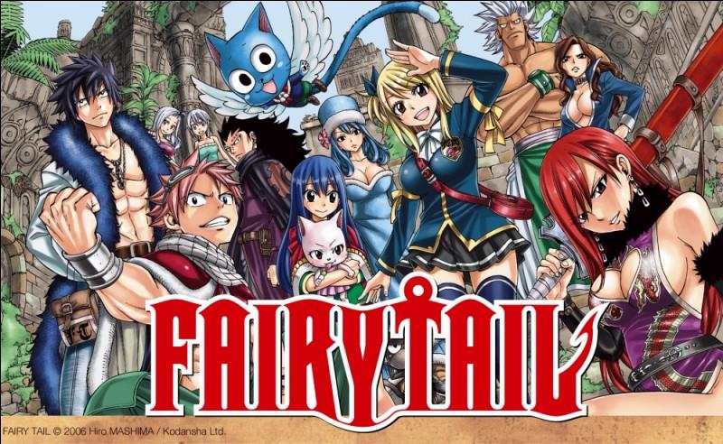 """Quel est ton personnage préféré de """"Fairy Tail"""" ?"""