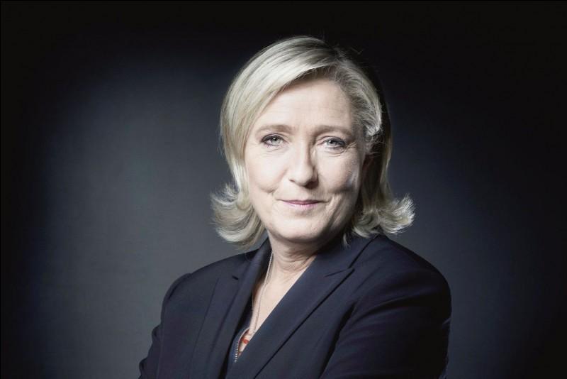 Quel était le pourcentage de vote pour Marine Le Pen lors du premier tour de l'élection présidentielle française, le 23 avril 2017 ?