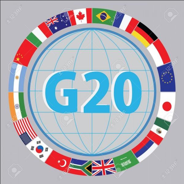Qui n'était pas présent lors du sommet du G20, qui a eu lieu à Hambourg, en Allemagne, les 7 et 8 juillet 2017 ?