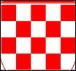 Sur le drapeau de quel pays peut-on observer ce petit détail ?