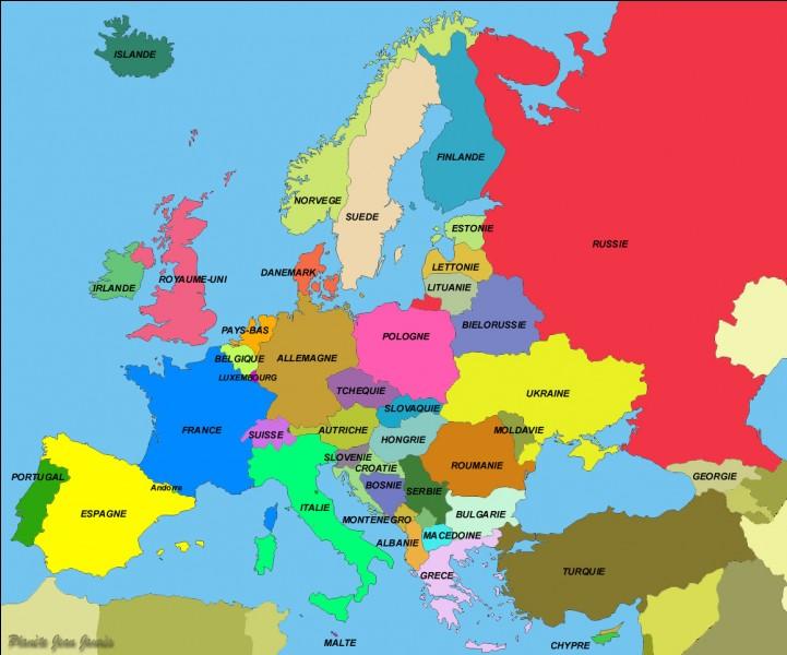 Parmi ces pays, lequel n'est pas membre de l'Union européenne ?