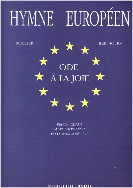 Qui a écrit l'hymne européen (Ode à la joie) ?